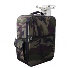 Backpack Aluminum Alloy Box for DJI Phantom 3 FPV Photography