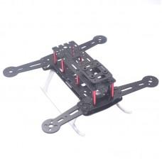 QAV250 HK260F Pure Carbon Fiber Folding Quadcopter Frame Kits for FPV Photography