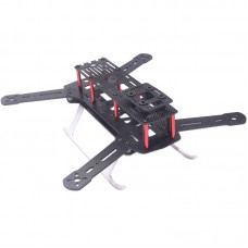 QUCIK300 Pure Carbon Fiber Quadcopter Frame Kits for Multicopter FPV Photography