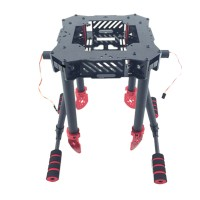550MM Folding Umbrella Shape Carbon Fiber Quadcopter Frame Kits for FPV Photography