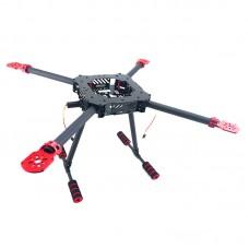 650MM Folding Umbrella Shape Carbon Fiber Quadcopter Frame Kits for FPV Photography