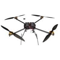 120MM Folding Carbon Fiber Plant Pesticide Spray Quadcopter for Agricultural Use