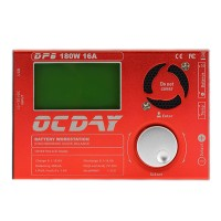 OCDAY Multifunctional Balance Charger+20A Power Supply for Car Model Battery 160W 16A DP6 1-6S 220W 16A