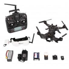 Walkera RUNNER 250 Quadcopter Frame Kits&Charger&Camera&Devo 7&Google Glasses&OSD for FPV Photography