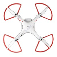 Anti-collision Prop Protection Ring White/ Red for DJI Phantom 2 3 Propeller