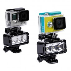 Universal Diving Light  LED for Xiaoyi Xiaomi Sports Camera Gopro Hero4 3+ 3