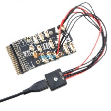 PIXHAWK PX4 LED RGB Module LED External Indicating Light Full Color USB Extension Cable with Shell for FPV Photogrphy