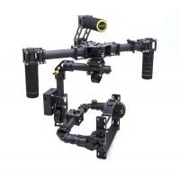 DSLR Brushless Handle Carbon Fiber Camera Gimbal + 3 Axis Controller + Motor for D800 D900 & Other DSLR camera