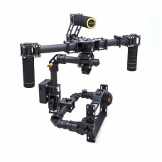 DSLR Brushless Handle Carbon Fiber Camera Gimbal + 3 Axis Controller + Motor for D800 D900 & Other DSLR camera