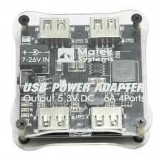 Matek DC-DC 4 USB Port Charger Voltage Converter 5.3V 6A