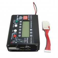 2-9S UNA9 PLUS Lipo Balanced Charger Max Power 300W 0.2-0.8A Built in 9CH