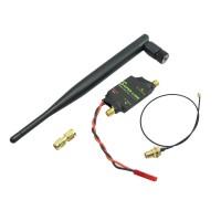2.4G 2W Radio Signal Amplifier Booster for DJI Phantom Transmitter TX Extend Range Black