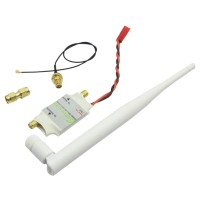 2.4G 2W Radio Signal Amplifier Booster for DJI Phantom Transmitter TX Extend Range White