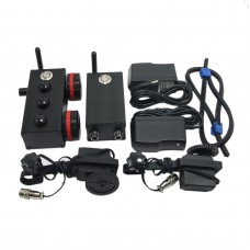 Mini Wireless Follow Focus Dual Channel 200M Remote Control with Limit Zero Delay