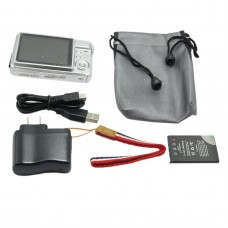 """NEW K09 12.0 MP 2.7""""TFT LCD DIGITAL CAMERA 8X Digital Zoom AC Charger Anti-shake/face detection/Smile"""