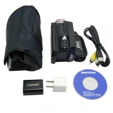 HD-613A HD Camcorder 1920x1080P PAL CMOS Sensor 16xDigital Zoom Smile Capture