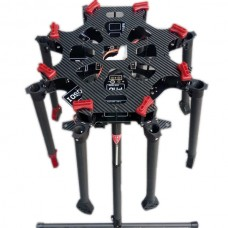 8 Axis S1000 Carbon Fiber Folding Octacopter Frame Kits + Electronic Landing Gear for FPV Photography