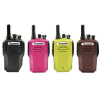 Portable Walkie Talkie QUANSHENG TG-K100 UHF 400-480MHz 5W 16CH Jacklight Scan DTMF Two Way Radio Two Antenna