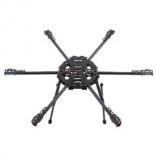 MR.RC 680 Full Carbon Fiber Folding Hexacopter Frame Kits for FPV Photography