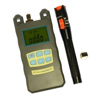 Optical Power Meter AIO Red Light Optical Fiber 10KM