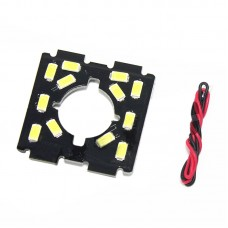 Camera Fixing Board Highlight LED Light Board for QAV250 280 Quadcopter Night Navigation