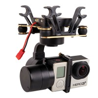 Z-Tiny2 3 Axis Brushless Gopro Gimbal Camera Mount for FPV Photography DJI Phantom Compatible