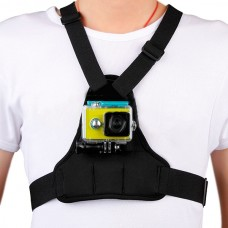 Chest Strap Shoulder Strap Fixation for Gopro Hero4 3+ 3 Xiaoyi Camera Extreme Sports Shooting