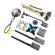 Mini APM+GPS+433MHZ Telemetry+Power Module+OSD Flight Control Combo for QAV250 Multicopter