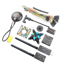 Mini APM+GPS+915MHZ Telemetry+Power Module+OSD Flight Control Combo for QAV250 Multicopter