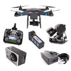 THXB Play+ Quadcopter + Camera + Gimbal + Remote Controller + Battery + Charger for UAV Multicopter FPV Photography