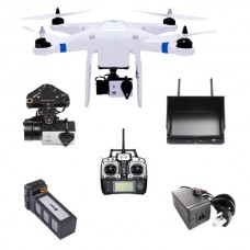 THXB Pro Quadcopter+Camera+Gimbal+Remote Controller+Battery+TX+Monitor for UAV Multicopter FPV Photography