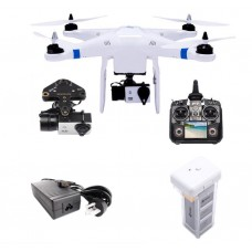 THXB Pro+ Quadcopter + Camera + Gimbal + Remote Controller with Image Transmission for UAV Multicopter FPV Photography