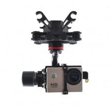 HMG YI3D 3 Axis Glass Fiber Brushless Gimbal AIO for SJ4000/ SJ45000/ SJ6000 Xiaoyi Sports Camera