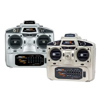 2.4GHz MC6 6CH FHSS Remote Control System Transmitter with Receiver for RC Helicopter