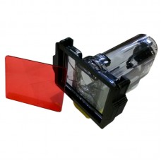 Sony HDR-AS100V AS30V AS20 AS15 Diving Filter Mount & Filter for MPK-AS3 Waterproof Casing