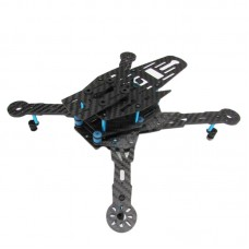 DG250 4-Axis Carbon Fiber Dual-layer Quadcopter Frame Kit with Landing Gear for FPV