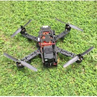 QAV280 Carbon Fiber Quadcopter &CC3D Flight Controller & Emax 2204 & 12A ESC & 6030 Carbon Propeller for FPV Photography