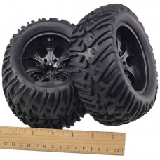 1:10 Monster Truck Wheel Rubber Tire 88005mm for Remote Control Car Model