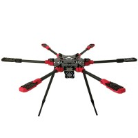 MAX6 16mm 6-Axis Folding Hexacopter Multiaxis Aerial Frame for FPV LY685