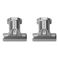 Tarot 16mm Dia Metal T shape 3 Direction Carbon Fiber Connector Base TL68B45 1Pair for Landing Gear