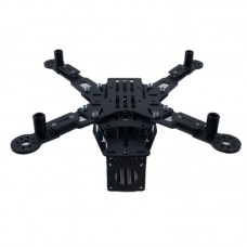 Glass Carbon Board QAV250 Folding Quadcopter Frame Kits for FPV Photography