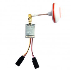 600mw 27dBm 5.8G 32CH 2S-6S DC Transmitter TX + Mushroom Antenna for Multicopter FPV Photography