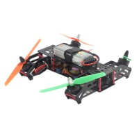 M250-C30 Glass Fiber Quadcopter Frame Kits w/ Emax 2204 & 12A ESC & CC3D & Propeller for FPV Photography