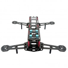 TM260 4-Axis 3K Carbon Fiber Quadcopter Frame Kit with Damping Board for FPV