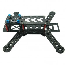 QAV280 3K Carbon Fiber Mini Quadcopter Frame Kits for FPV Multicopter
