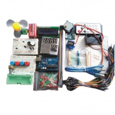 Arduino Learning Kits UNO R3 Official Version for Beginners & 41PCS Video Teaching Course + Manual