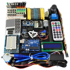 Arduino Learning Kits Including Arduino Professional Power Supply 9V-1A