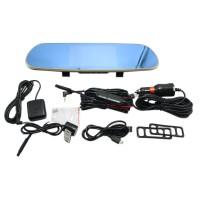X6 DVR Video Driving Camera Rear View Mirror DashCam DVR Accident Video Recorder 720P 1080P VGA 170°