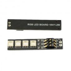 Matek RGB LED 16V 4S Lipo Battery 7 Colors LED Light Board Navigation Light for Multicopter QAV Helicopter