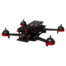DALRC DL-265 265mm Wheelbase 4-Axis Carbon Fiber Quadcopter Frame with Landing Gear for FPV